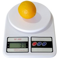 Evelots Electronic Multi-Functional Kitchen Food Scale, Weighing Supplies, White