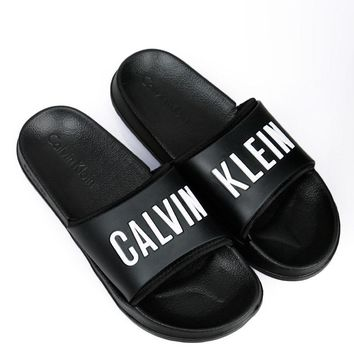 calvin klein casual woman sandals slipper shoes