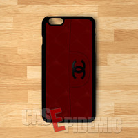 Chanel Red Bag -end for iPhone 6s   iPhone 5s   iPhone 6   iPhone 4S