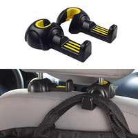Car Styling Environmental Multifunctional Vehicle Seat Back Hook On-board Sundry Pothhook Internal Accessories High Quality