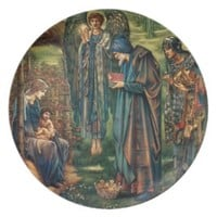 Nativity Scene Gifts for Christmas Plate