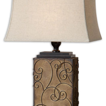 Uttermost Calvina Metal Table Lamp - 27669