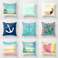 9 Pillows that feel like summer by M Studio - Each Sold Separately