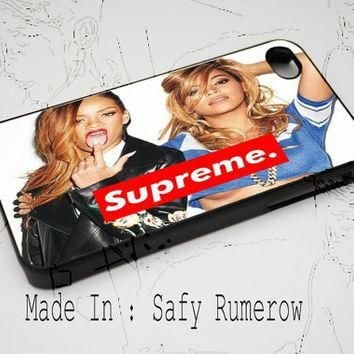 Beyonce Supreme iPhone Case 4 & 4s,iphone 5, iPhone 5c , iPhone 5s Samsung S3 Samsung