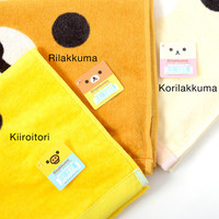 Rilakkuma Face Towels