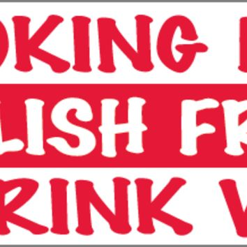 Looking for a Polish Friend to Drink With Bumper Sticker
