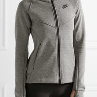 Nike - Tech Fleece cotton-blend jersey hooded top