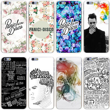 Panic at disco album song Cover Case for iPhone 7 7 Plus 6 6S Plus 5 5S SE 5C 4 4S