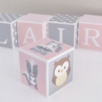1 FREE Theme Block Of Your Choice With Every Purchased Baby Name Blocks, Custom Baby Gift, Baby Shower, Newborn Photography, Photo Prop