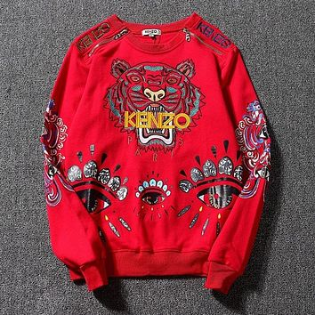 Trendsetter Kenzo Women Man Fashion Sport Casual Top Sweater Pullover