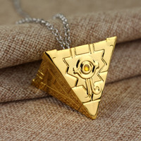 16 style 3D Yugioh Necklace Yu-Gi-Oh Bronze Color Anime Millenium Pendant Jewelry Toy Yu Gi Oh Cosplay Costume Gift