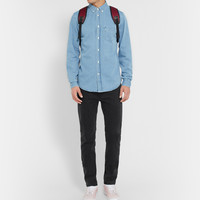Acne Studios - Isherwood Slim-Fit Washed-Denim Shirt | MR PORTER