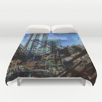 Montreal urbania Duvet Cover by Jean-François Dupuis | Society6