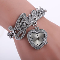 Stylish Strong Character Pendant High Quality Watch Bracelet Watch [8863745287]