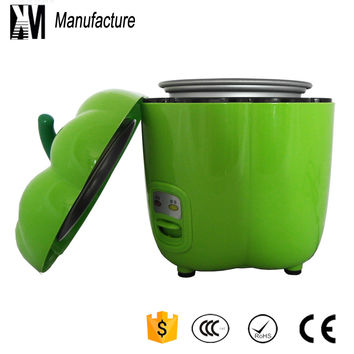 Promotion gifts Manufacture portable colorful personal chili type  0.8L electric  mini rice cooker  for free shipping