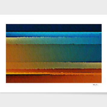 «Desert Sky», Numbered Edition Fine Art Print by David Manlove - From $20 - Curioos