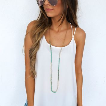 Key To My Heart Tank: White