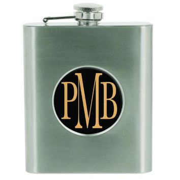 Stainless Steel Flask with Insert Holder