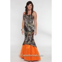 Camo Mermaid Ball Gown Camouflage Prom Wedding Homecoming Formals