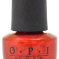 Women OPI Nail Lacquer #NL R53 An Affair In Red Square Nail Polish
