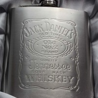 Jack Daniels Stainless Steel Flask