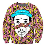 Odd Future 3D Crewneck Sweatshirt Women Men Tops Outfits Casual Jogger Jumper Fashion Clothing Hoodies Plus Size S-5XL