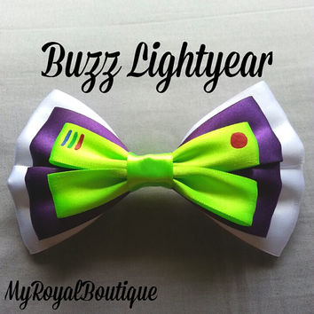 Buzz Lightyear Hairbow