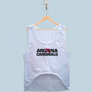 Women's Crop Tank - Arizona Cardinals Logo