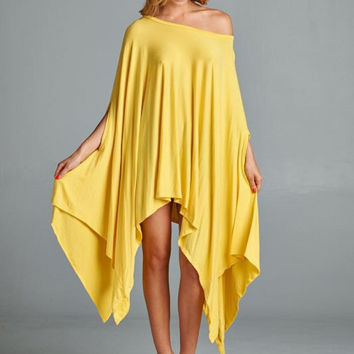 Cape Swing Top in Yellow