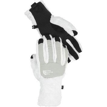 The North Face Women's Denali Thermal Etip Glove White/Gray