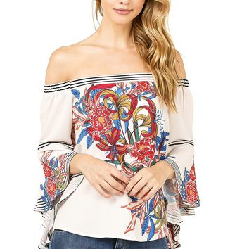 Passion Floral Blouse