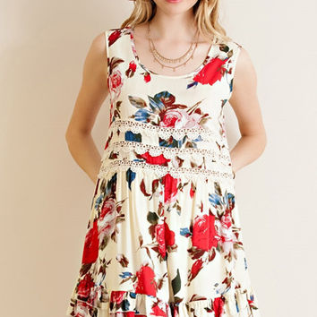 Raquel Floral Dress - FINAL SALE