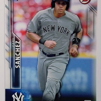 GARY SANCHEZ ROOKIE CARD 2016 Bowman #143 Yankees Phenom Catcher Sanchino! HOT!