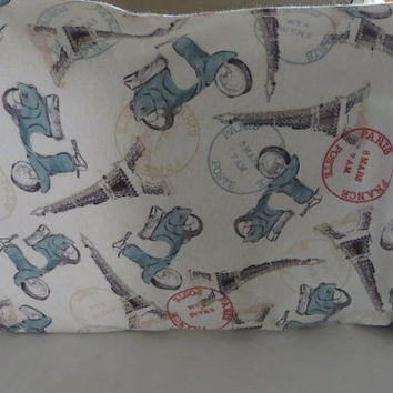 Standard Size Pillow Cases Paris Pillow Case Scooter Pillow Cases Pillow Cover Pillow Slip