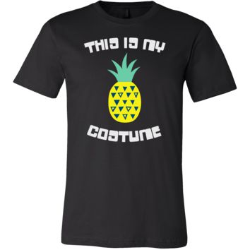 Pineapple Vintage Hawaii Tropical Aloha Costume T-shirt