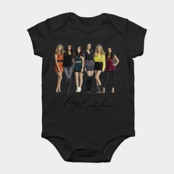 Baby Onesuit Baby Bodysuits kid t shirt Drama Tv Series Pretty Little Liars Poster Unisex Custom Fashion Funny Plus Size