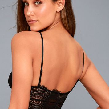 Belle Black Lace Brami
