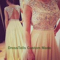 Long Prom Dress / Prom Dresses / formal dress prom / evening gown /evening Dress / Formal Dress 2014