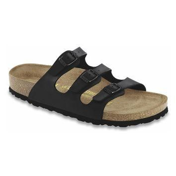 Birkenstock Classic Florida Soft Footbed Birko-flor Regular Fit Black - Beauty Ticks