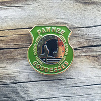 Parks and Recreation Pawnee Goddesses Soft Enamel Pin Leslie Knope Ron Swanson