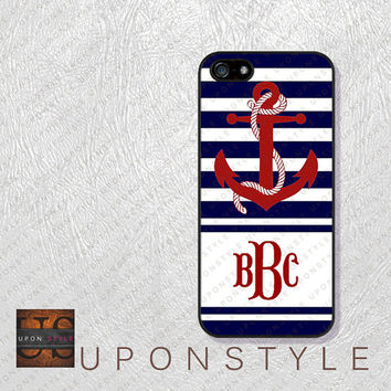 Phone Cases, iPhone 5S Case, iPhone 5 Case, iPhone 5C Case, iPhone 4 case, iPhone 4s case, Chevron Anchor, Case for iphone No-5D0021