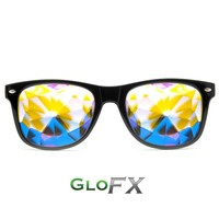 Ultimate Kaleidoscope Glasses - Black
