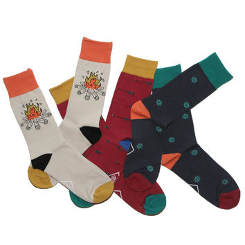 3-Pack Fancy Socks Grab Bag Special