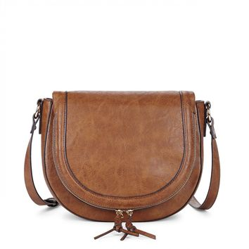 Saddlebag With Braided Tassels