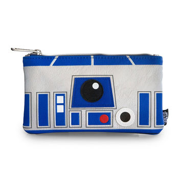 Star Wars Loungefly R2-D2 Faux Leather Coin/Cosmetic Bag