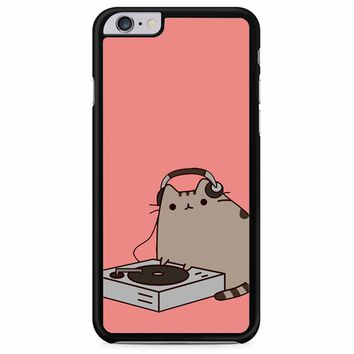 Pusheen The Cat Dj iPhone 6 Plus/ 6S Plus Case