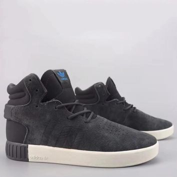 Adidas Tubular Invader Strap Fashion Casual High-Top Old Skool Shoes-2