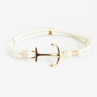 Ivory Sailor Stretch Bracelet