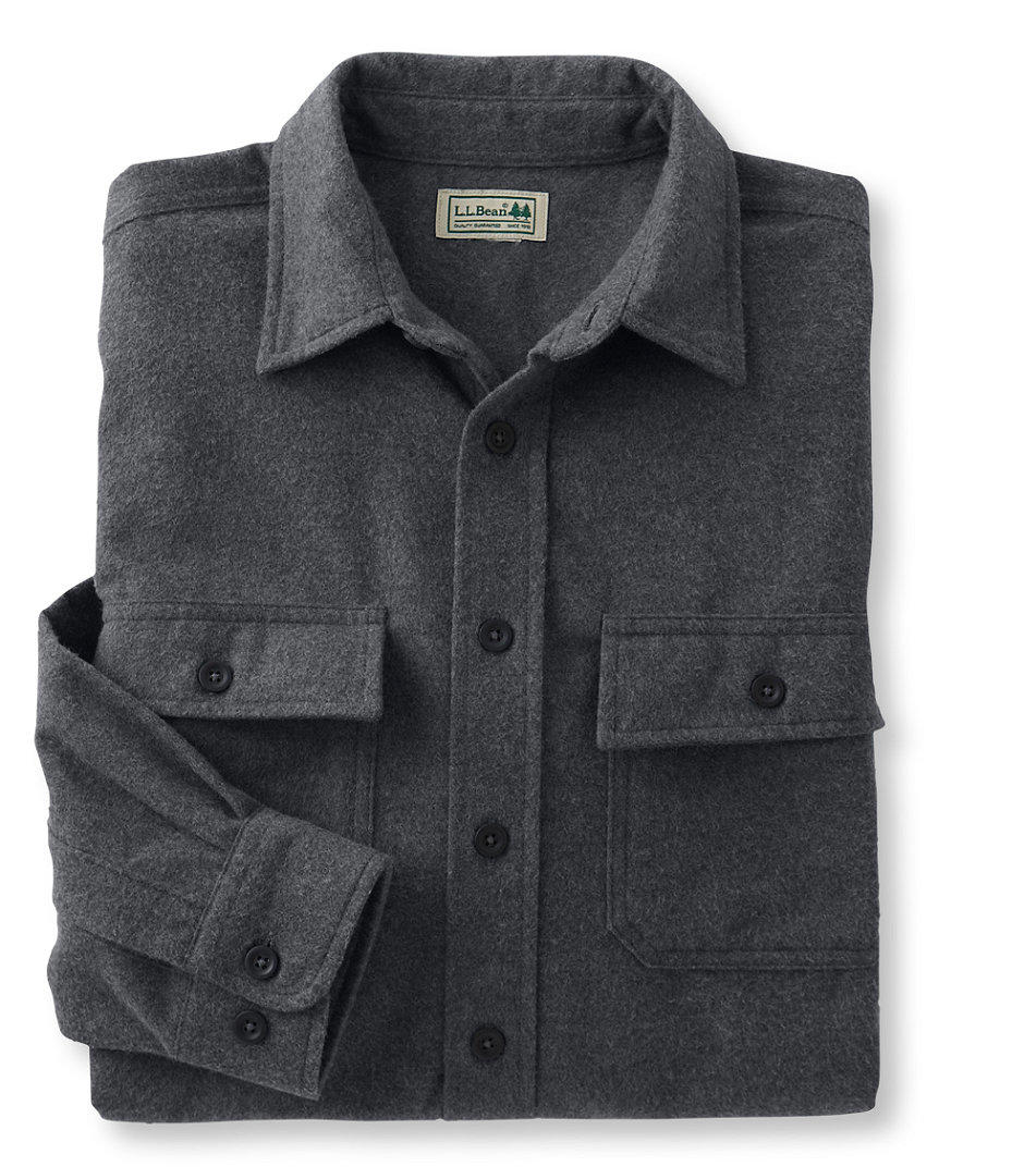 Bean's Chamois Cloth Shirt, Traditional from L.L.Bean, Inc.