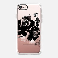 Black Rose iPhone 7 Capa by Li Zamperini Art | Casetify